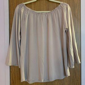 🌺Crosby Cream shirt Size Large🌺